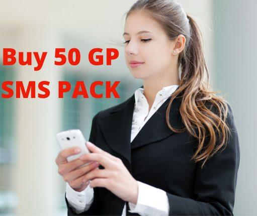 Buy 50 GP SMS Package